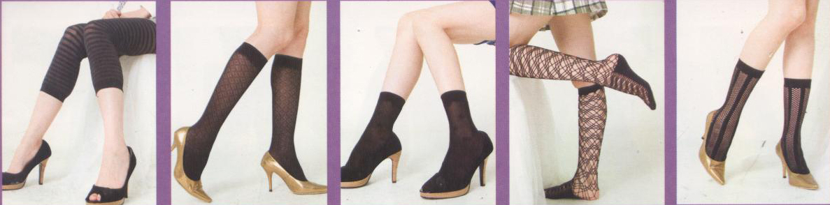 footless toe tights knee high stocking manufacturer